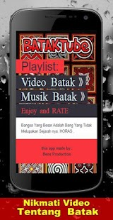 Batak Tube Video - screenshot