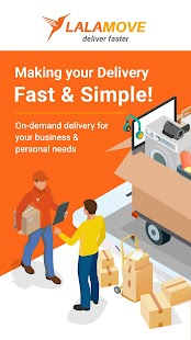 Lalamove - Express & Reliable Courier Delivery App for pc