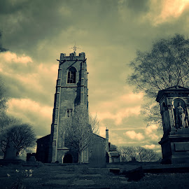 St Mary's by Shan  B - Buildings & Architecture Places of Worship ( religion, tomb, church, graves, mono )