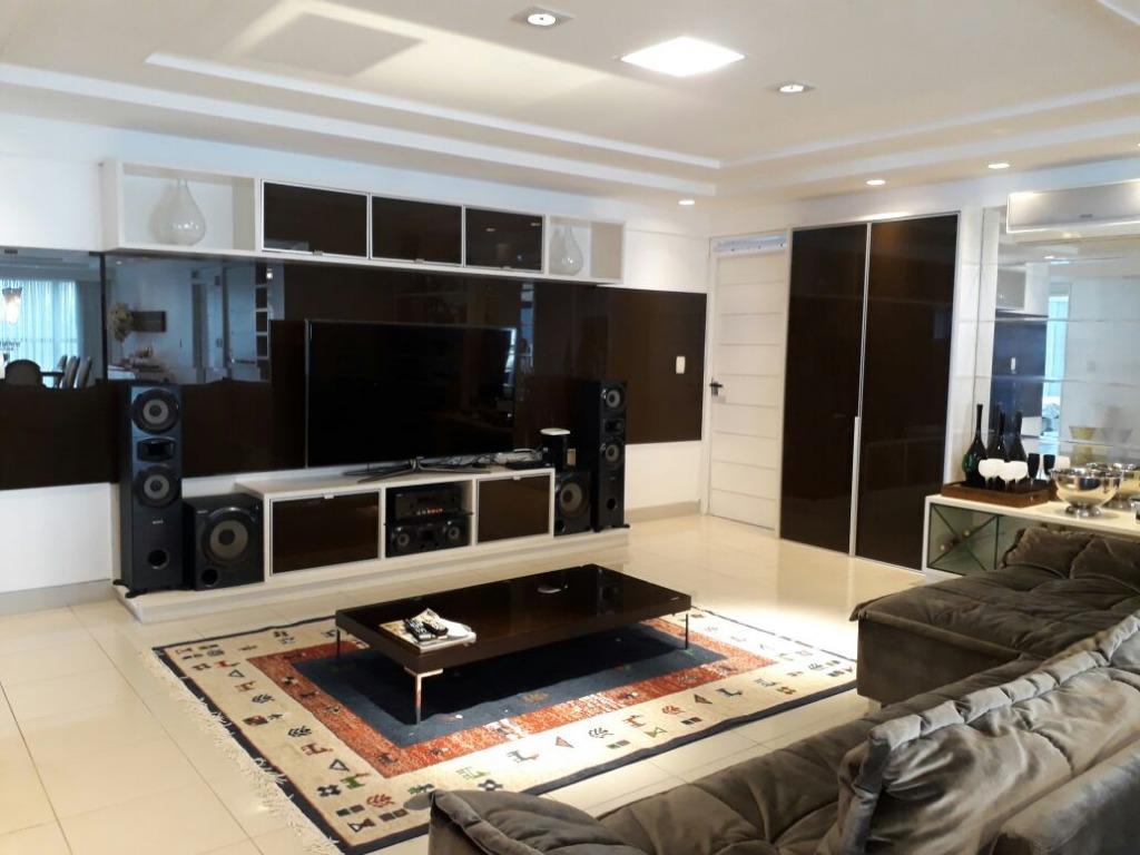 Apartamento com 4 dormitórios à venda, 265 m² por R$ 1.300.000 - Manaíra - João Pessoa/PB