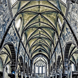 by Ralf Harimau Weinand - Buildings & Architecture Places of Worship ( deutschland, kirche, mettlach, church, germany )