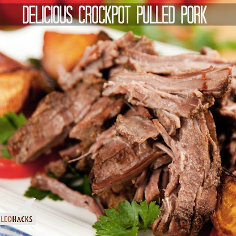 Delicious Crockpot Pulled Pork