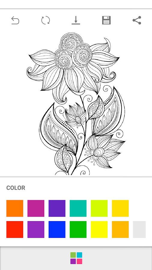ColourGo - Coloring book Screenshot 7