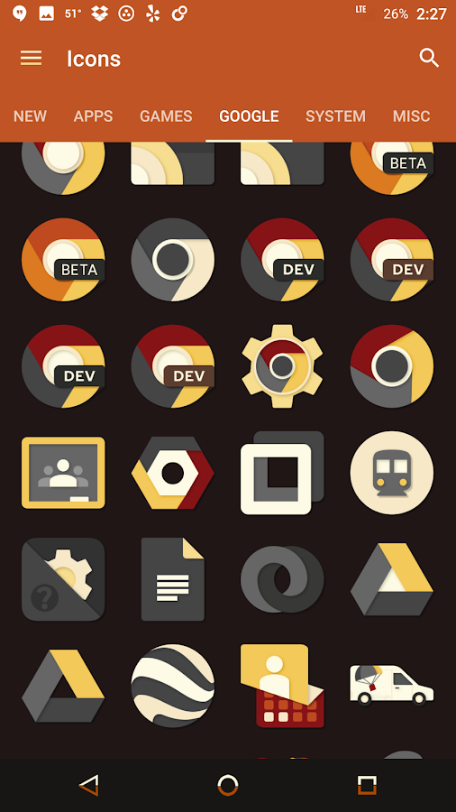 Saturate Icon Pack Screenshot 7
