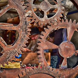 Rust by Marco Bertamé - Artistic Objects Other Objects ( gear wheels, metal, rusty, rust )