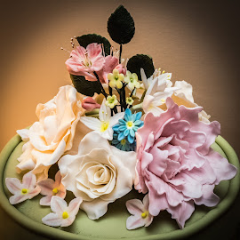 Sugar Craft on Birthday Cake by Chris Knowles - Food & Drink Cooking & Baking