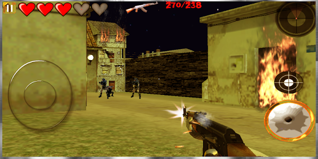 Gun War Battle 3D: Free Games- screenshot thumbnail
