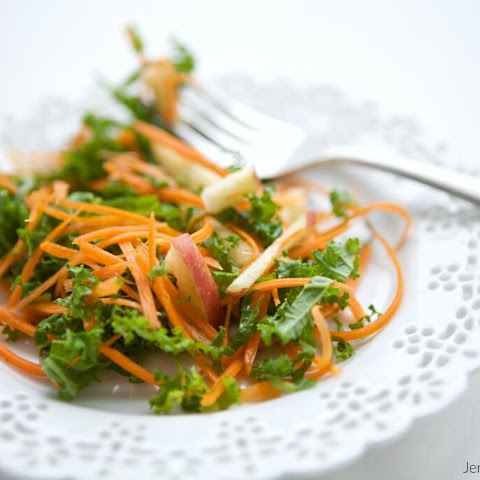 Kale, Apple & Carrot Salad