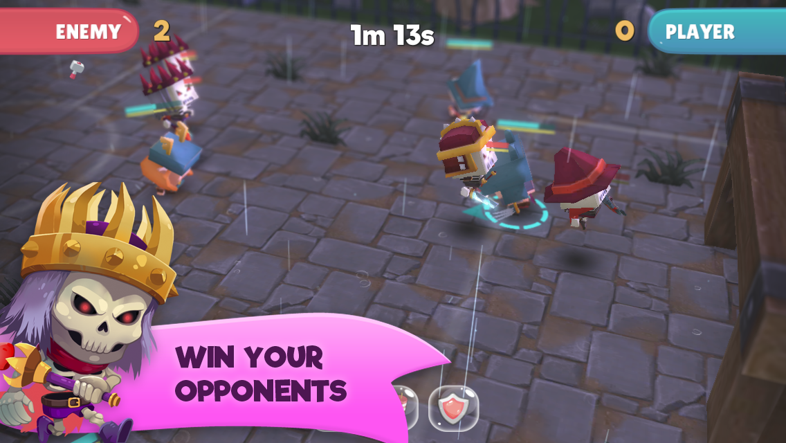 WIF Soccer Battles Screenshot 11