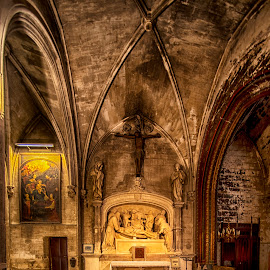 Notre Dame des Ange,Ise de la Sorque by Stanley P. - Buildings & Architecture Places of Worship