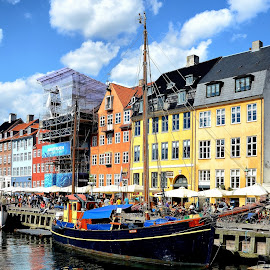 Nyhavn by Francis Xavier Camilleri - City,  Street & Park  Historic Districts