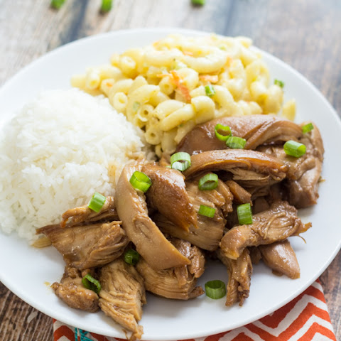 Hawaiian Shoyu Chicken