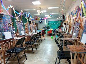 Birthday Parties at My Art Shed