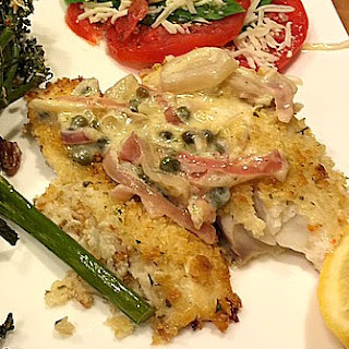 Panko and Manchego Crusted Tilapia