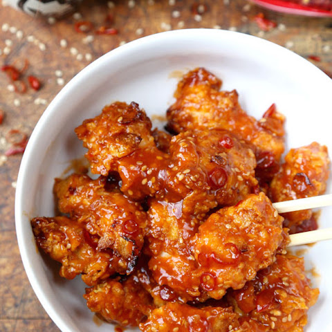 Easy Baked General Tso Chicken