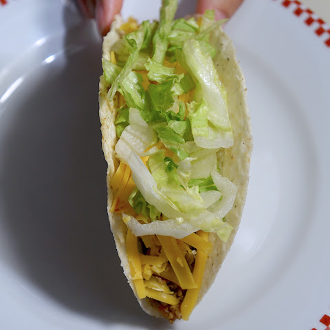Glorious Ground Beef Tacos with Potato and Onion
