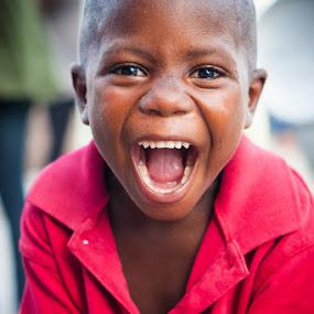Happiest Kid In Haiti II by Joe Boyle - Babies & Children Children Candids ( love, jeremie, child, happy, joy, haiti, smile, kid )