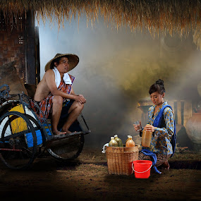 Tradisi Jamu sehat Indonesia  by Achepot Chepot - Digital Art People