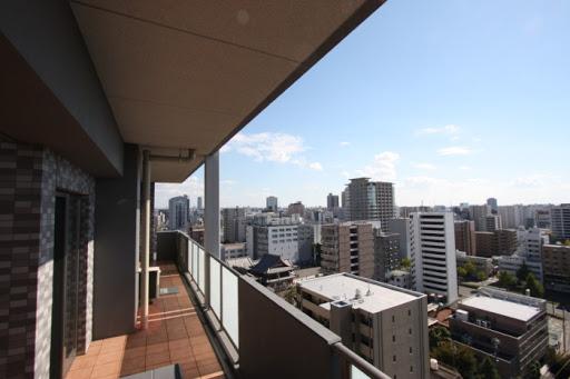最上階に付、眺望通風良好 バルコニー・ルーフバルコニー面積48.98㎡