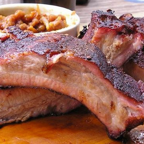 Baked BBQ'd Beef Back Ribs