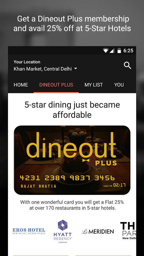 Dine out: Restaurant Deals Screenshot 2