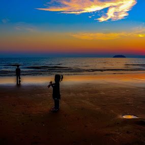 Child by Ramlan Abdul Jalil - Landscapes Sunsets & Sunrises