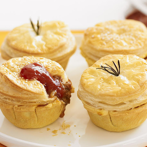 Mini Beef and Stout Pies