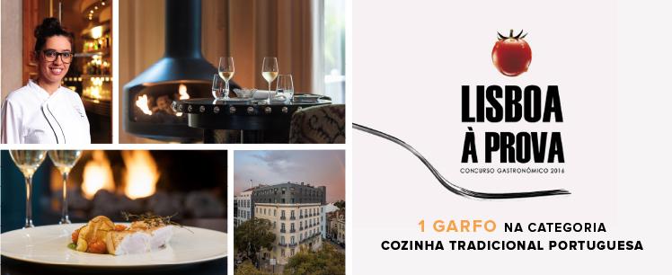 !Sale 1 Tenedor del Lisboa à Prova para el The Vintage Restaurant & Bar!