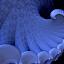 Feeling A Little Blue by Glenda Popielarski - Illustration Abstract & Patterns ( m3d, blue, abstract art, curl, digital art, mandelbulb 3d, fractalart, rawfractals, mb3d, fractals, black )