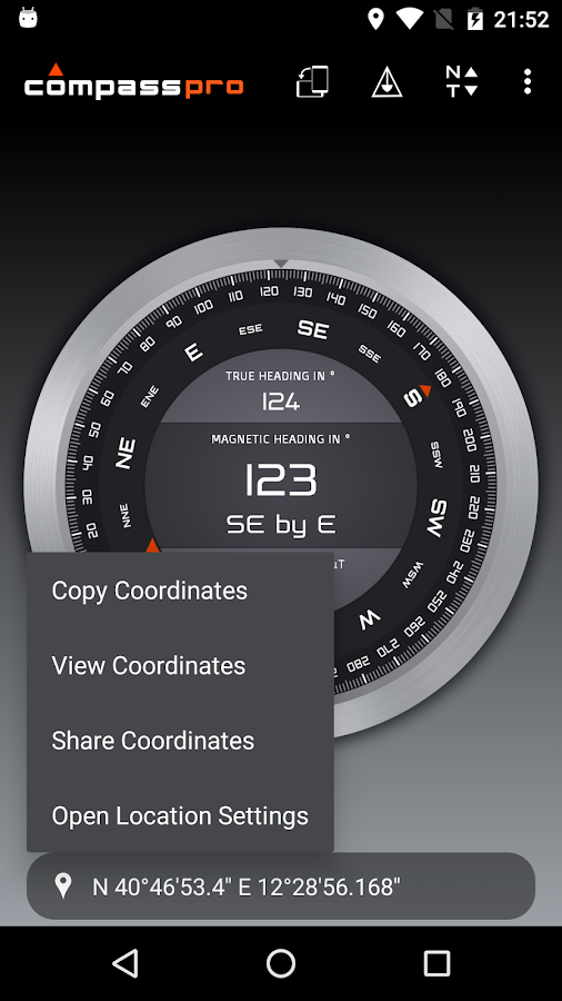 Compass Pro Screenshot 6