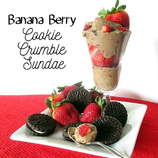 BANANA BERRY COOKIE CRUMBLE SUNDAE