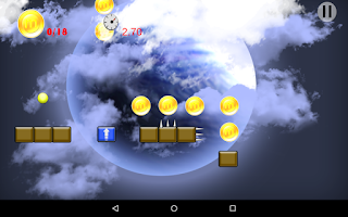 Screenshot of Moball: The Bounce Saga (Free)