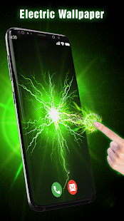 3D Electric Live Wallpaper