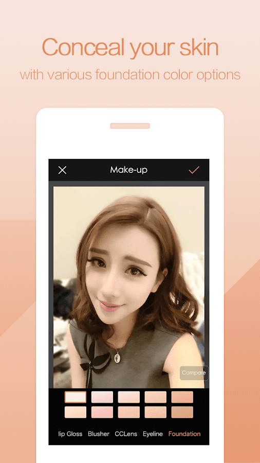 PhotoWonder: Pro Beauty Photo Editor&Collage Maker Screenshot 3