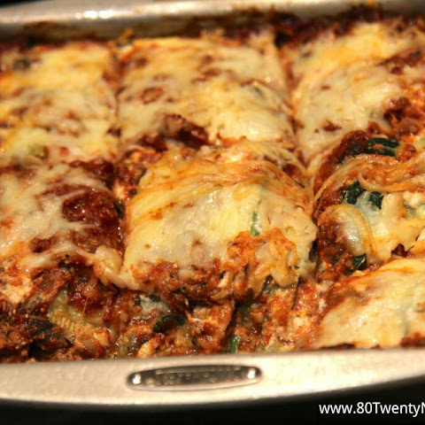 Skinny Zucchini Lasagna - low carb and gluten free!