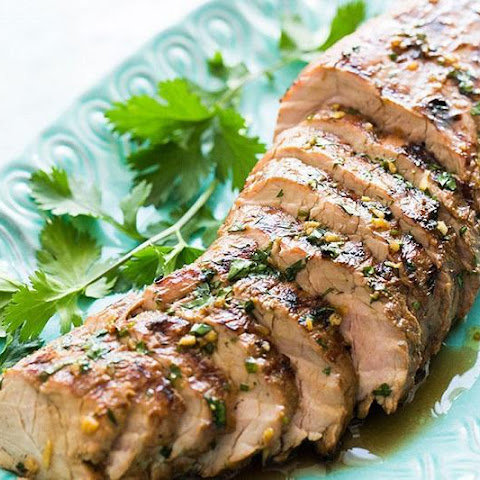 Grilled Pork Fillet With Ginger And Soy Sauce