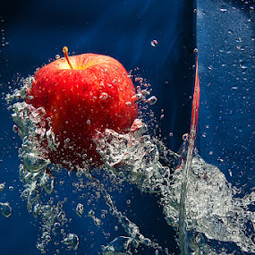 Red Apple by Andy R Effendi - Artistic Objects Other Objects ( still life, water splash )