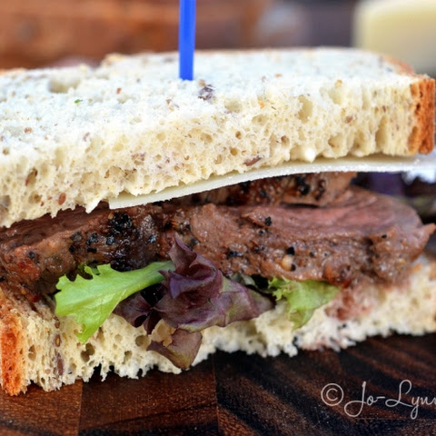 Beef Tenderloin Sandwich with Horseradish Cream