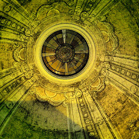 Catholic Church Ceiling  by Diana Campeanu - Landscapes Travel ( romania )