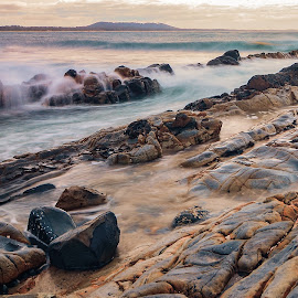 Crescent Head ,NSW by Alan Rouse - Landscapes Beaches ( sky, waves, long exposure, ocean, rocks )