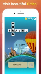 Word Travel:World Tour via Crossword Puzzle Game