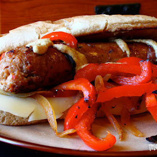 Sausage Sandwich with Peppers
