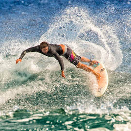 by Kelley Hurwitz Ahr - Sports & Fitness Surfing ( hawaii )