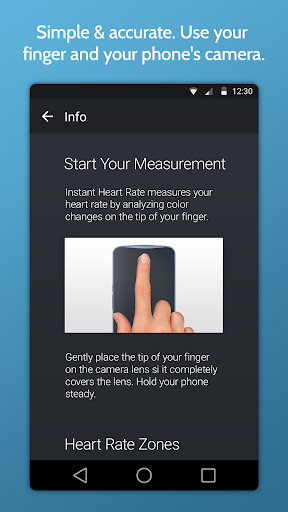 Instant Heart Rate - screenshot