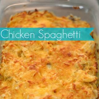 Chicken Spaghetti Noodles Recipes
