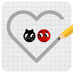 Love Balls : Ladybug and Cat Icon