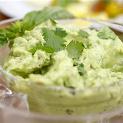 Avocado Dip with Crudites
