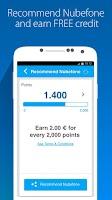 Screenshot of Nubefone: Low-cost calls