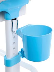 Стаканчик-держатель, аксессуар для растущей парты, голубой