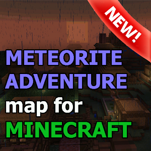 The Meteorite map for MCPE